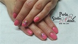 Roses one stroke Gel Polish