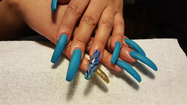 MATTE BLUE!