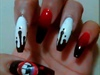Sexy Vampire Stiletto/Coffin Nails
