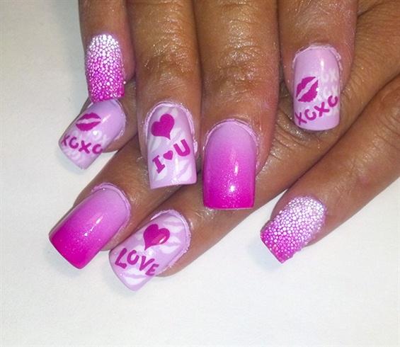 pink fade love