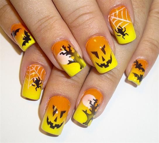 bright halloween