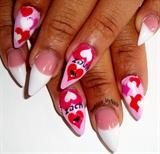 pink n white valentine