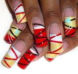 zigzag stripes french