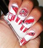 Wisconsin fan nails