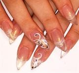elegant prom nails