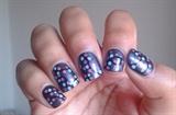 Chritmas nail art