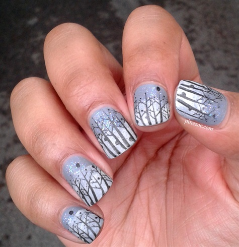 winter nails  nail art gallery
