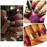 Nail Art : Leopard print!