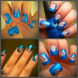 Nail Design: Negative space nail art!