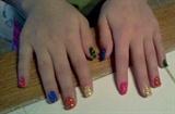 Lego Nail Art!