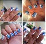 Toothpick Nail Art!