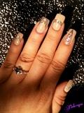 Rhinestone Nail Art!