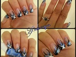 nail art: Tip Nail Design