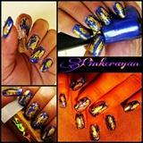 Foil nail art!