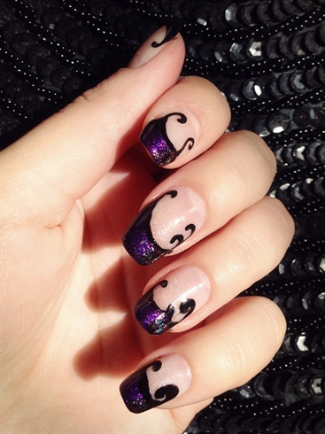 The evil queen nail art gallery the evil queen prinsesfo Images