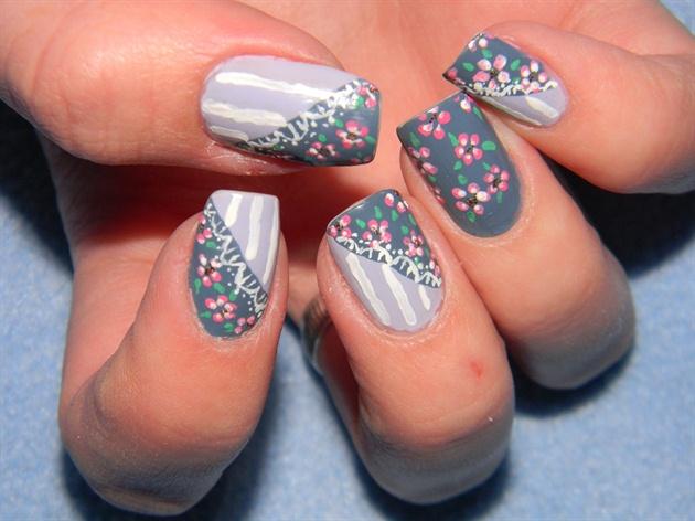 Vintage nail art design - Vintage Nail Art Design - Nail Art Gallery