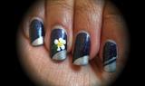 Navy sparkle