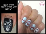 Dawn of the Planet of the Apes Nail Art