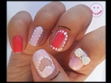 Heart See-Through Nail Art
