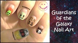 Guardians of the Galaxy Nails - Face