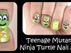 Teenage Mutant Ninja Turtle Nail Art