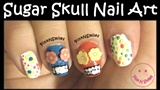 Day of the Dead - Sugar Skull Nail Art