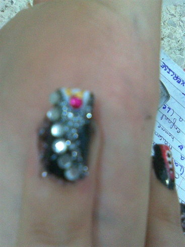 Anniversay Nails(Female Dress)