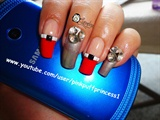 Japanese Nail Art with Studs