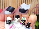 Damask Print Nails