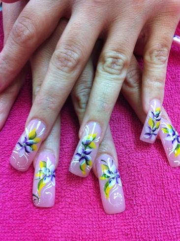 Yellow & Purple Flowers