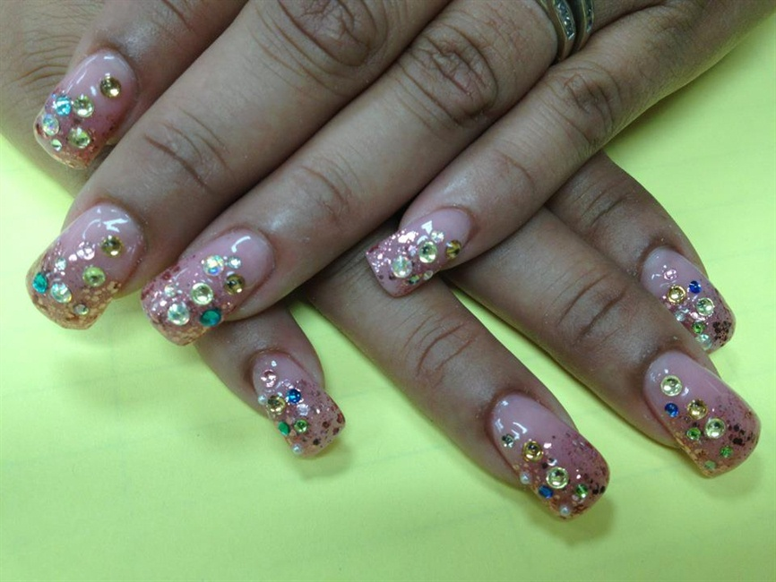 Outstanding Bling Nails Photo - Nail Art Ideas - morihati.com