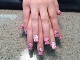 Double heart nails