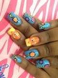 The sesame street nails