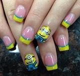 Minion nail design