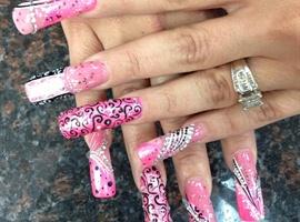 nail art: Pinky Art nails