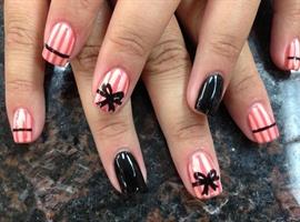 nail art: My bow
