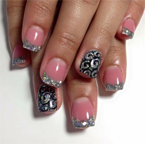 diamonds  nail art gallery