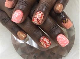 nail art: Marble Life