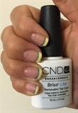 CND Brisa lite with CND Shellac