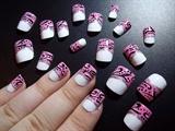 Elegant Pink French Nails