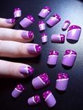Pretty Purple Leopard