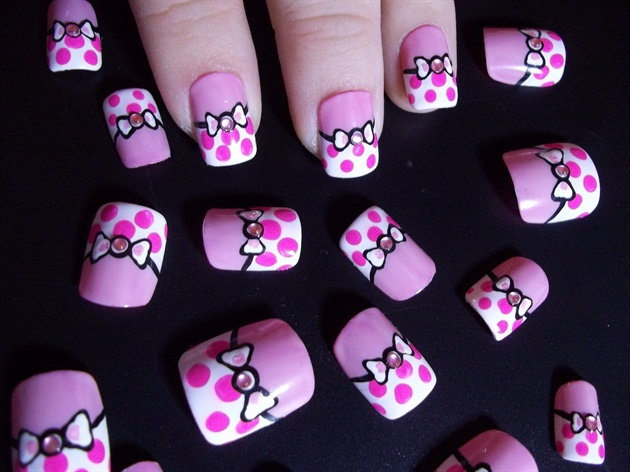 Pink Poka-Dot