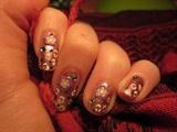 Leopard & Fimo Flowers