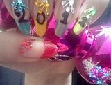 new year 2011 nail art