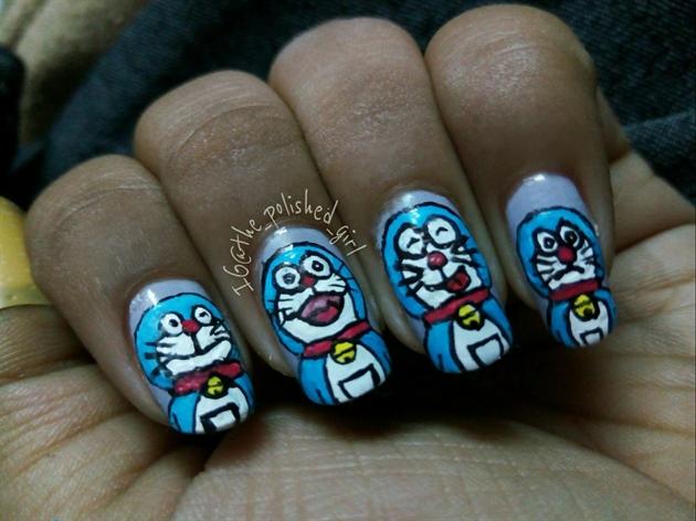 Doraemon Nail Art Nail Art Gallery