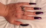 Purple w/heart jewels
