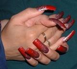 Crimson sparkle