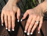 Elongated French Manicure