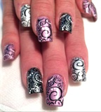 Swirl Nails