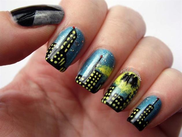 Batman Gotham City nails